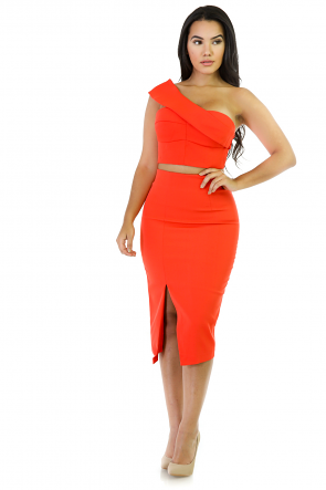 Shining Two-Piece Crop Stop Set