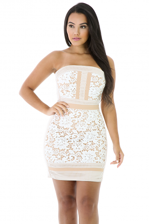 Yanci Lace Dress
