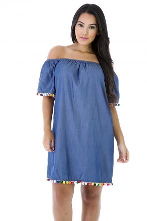 Denim Fiesta Dress