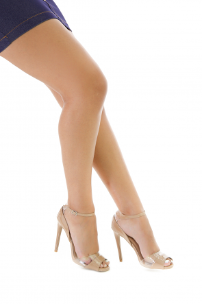 Ankle Strap Stiletto Heel