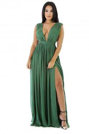 Sapphire Chiffon Dress