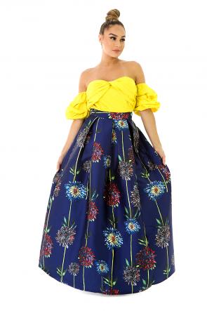 Poppy Floral Skirt
