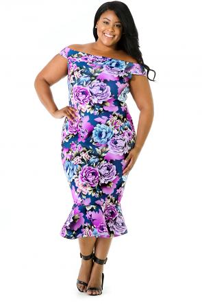 Lantana Mermaid Dress