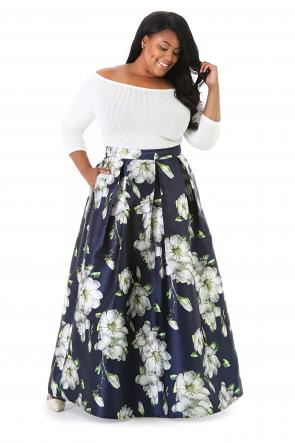 Zembla Floral Skirt