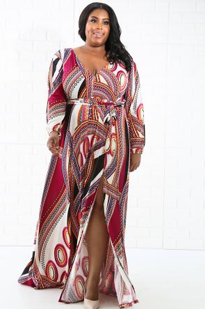 Alluring Maxi Dress
