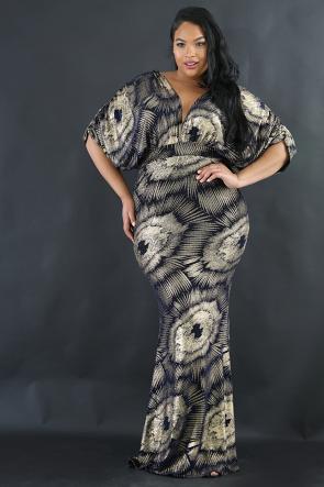 Explosion Gala Maxi Dress