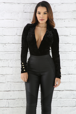 Classic Velvet Bodysuit
