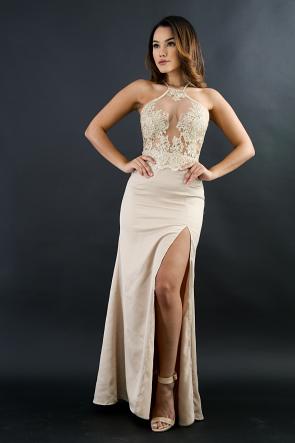 Cleo Silk Maxi Dress