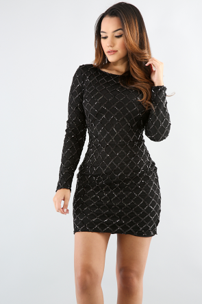 Dazzling Sequin Dress