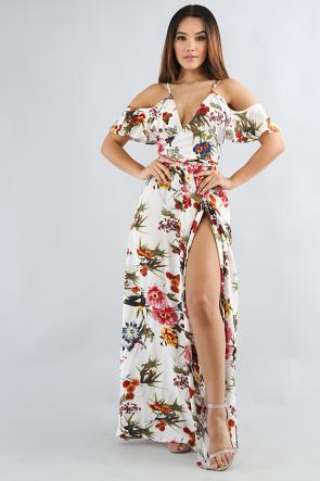 Summer Floral Breeze Dress
