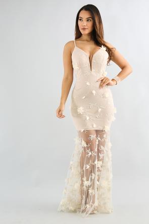 Flowy Floral Maxi Dress