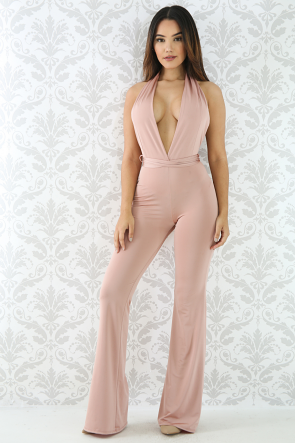 Surplunge Silky Jumpsuit