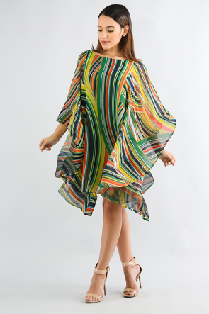 Esmeralda Swirl Dress