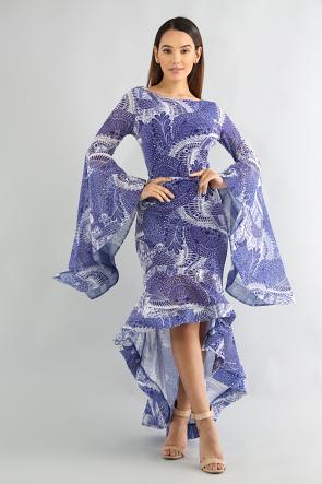 Mosic Swirl Dress