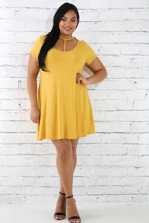 T Tunic Dress