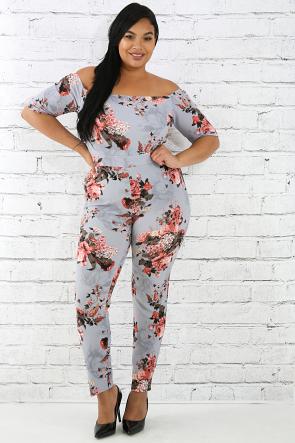 Paisley Floral Jumpsuit