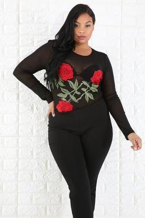 Rose Bodysuit