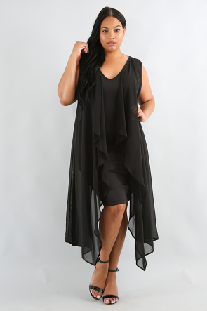 Bat Wing Body-Con Dress