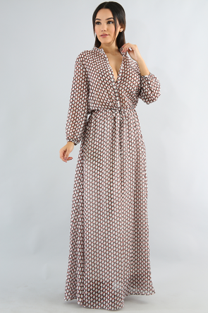 Goemetrical Maxi Dress