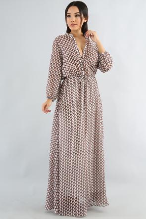 Goemetrical Maxi Dress