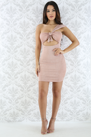 Mini Bow Body-Con Dress
