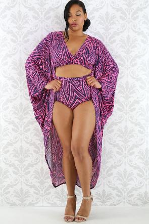 Kinetic Robe Swim Set