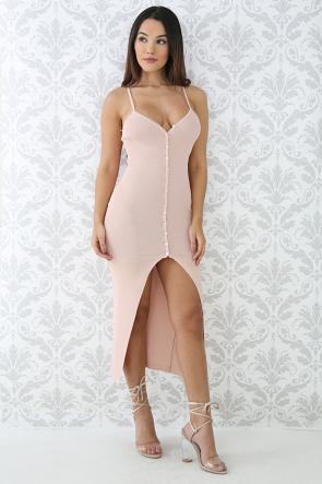 Simplicity Button Up Body-Con Dress