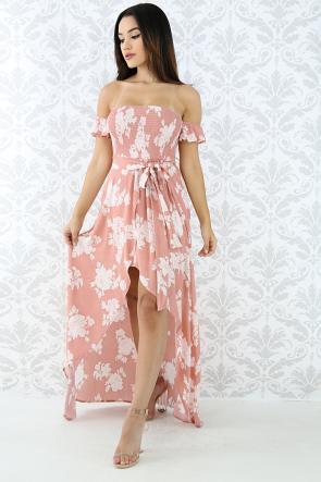 Sky Baby Maxi Dress