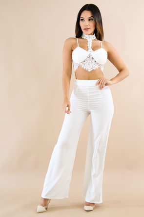Made in Lace Pants Set