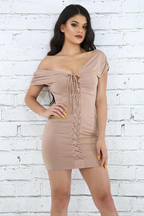 Corset Roche Mini Dress