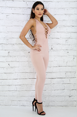 Good To Go Ladder Jumpsuit