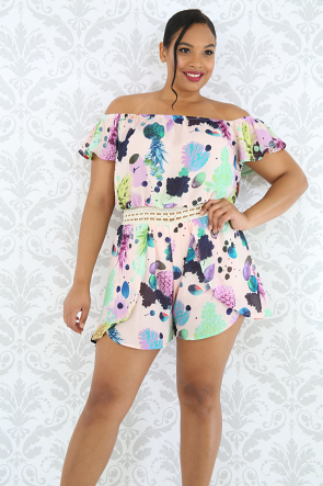 Fruit Drops Romper