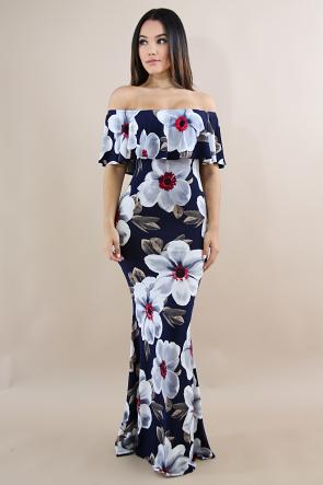 Rose Thorn Mermaid Dress