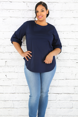 Scoop Sleeve Top