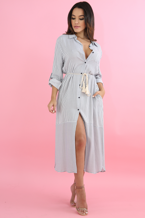 Striped Cottage Dress