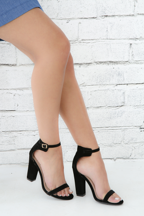 Ankle Strap Open Toe Heel