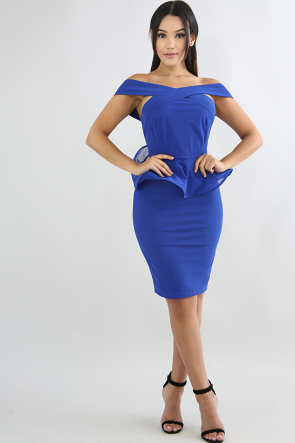 Crisscross Swirled Body-Con Dress