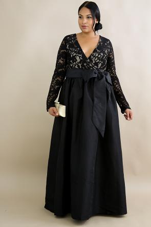 Shine Night Gown Maxi Dress