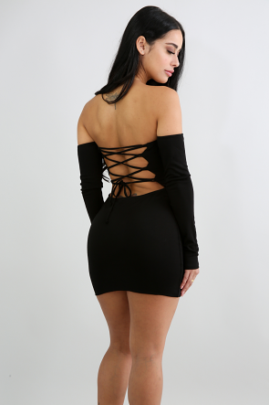Baby Back Mini Dress