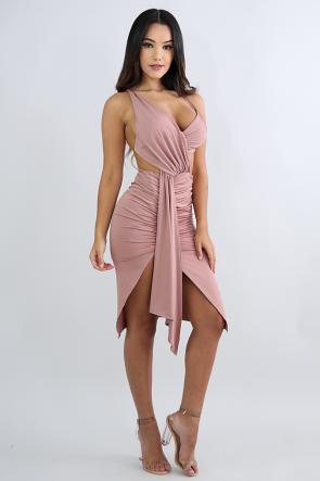 High Dimension Body-Con Dress