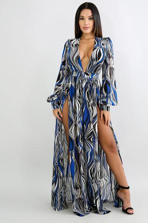 Bodysuit Silk Maki Dress