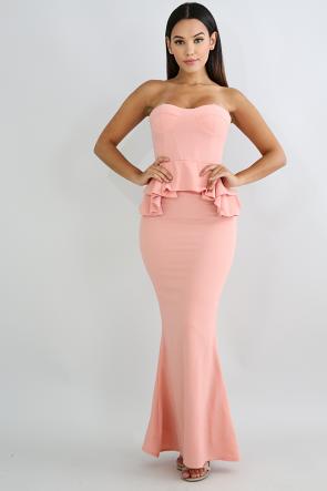 Bell-Skirt-Maxi-Dress