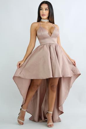 Royalty Long Tail Dress