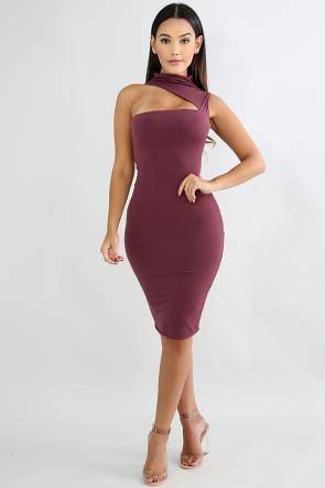 Slatter Body-Con Dress