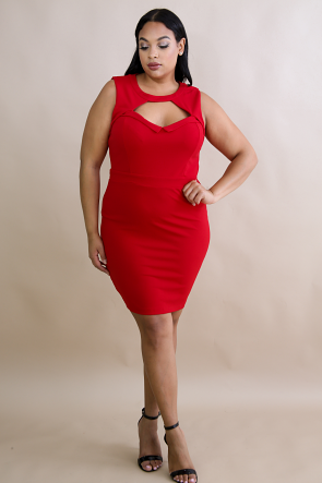 Sheath Body-Con Dress