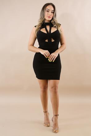 Triangles Body-Con Dress