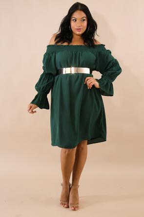 Chiffon Accordion Dress