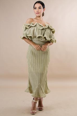 Shimmer Shimmer Swirl Dress