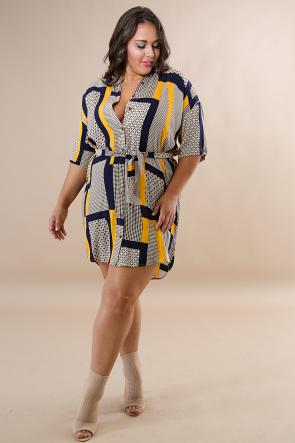 Breeze Collard Dress