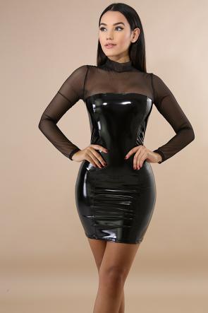 Sheer Barbie Body-Con Dress
